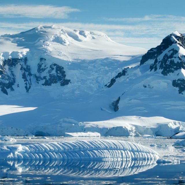 """Antarctic scene"" stock image"