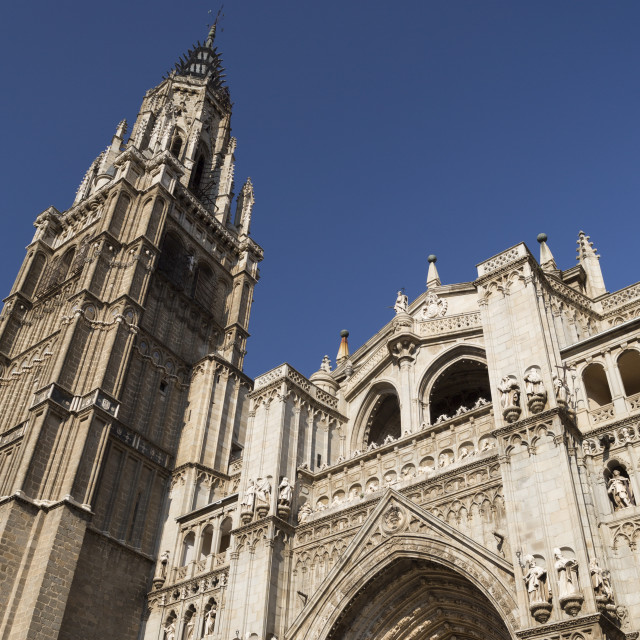 """""""Cathedral of Toledo"""" stock image"""