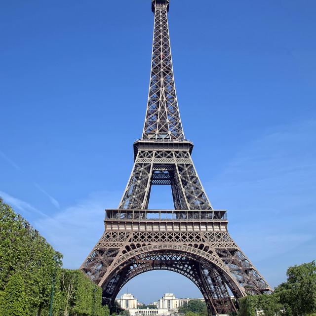 """Eiffel Tower in Paris"" stock image"
