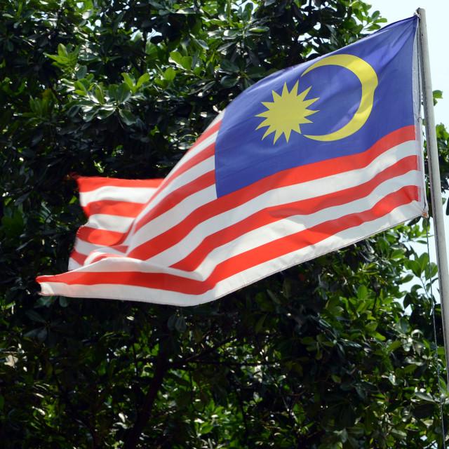 """""""Malaysian Flag"""" stock image"""