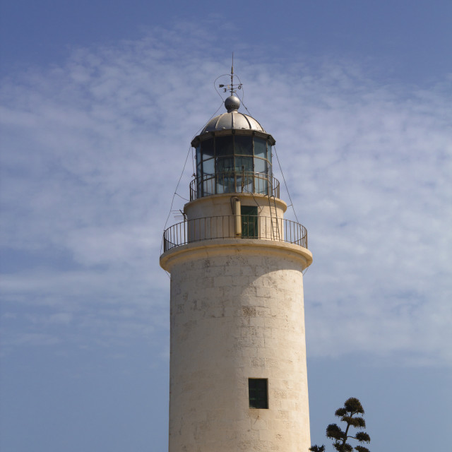 """Formentera lighthouse"" stock image"