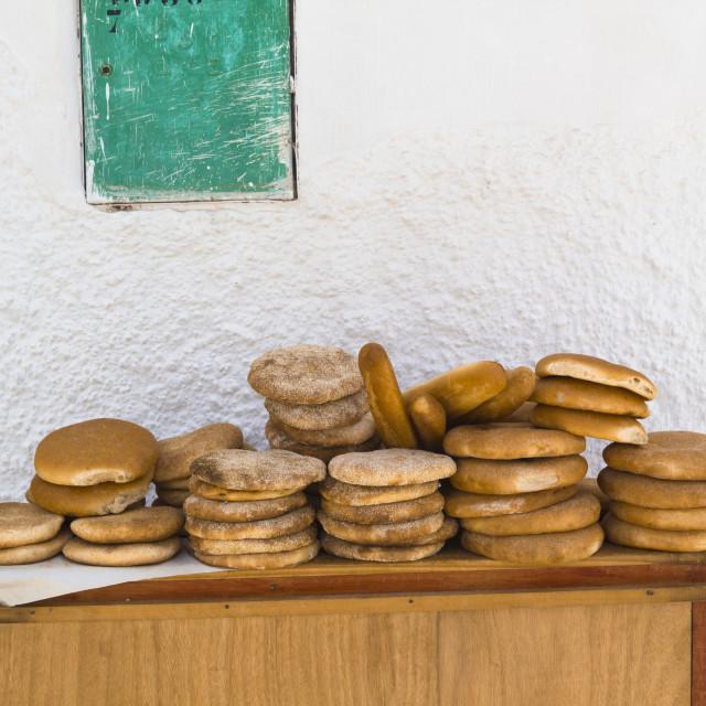 """Moroccan bread"" stock image"