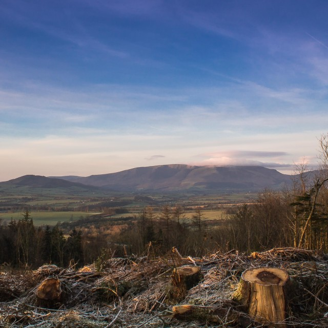 """Comeragh Mountains"" stock image"