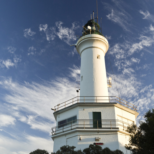 """""""Point Lonsdale Lighthouse"""" stock image"""