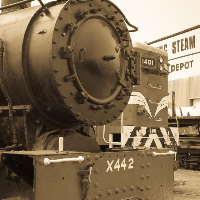 """steam depot"" stock image"