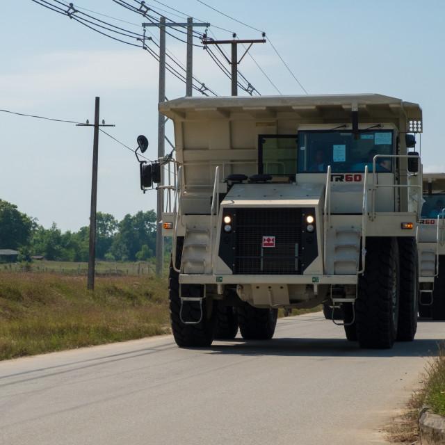 """Big truck"" stock image"