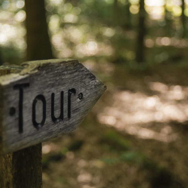 """""""Tour"""" stock image"""