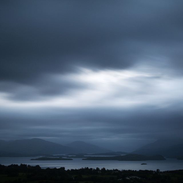 """""""View from Duncryne Hill2"""" stock image"""