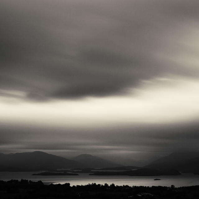 """""""View from Duncryne Hill3"""" stock image"""