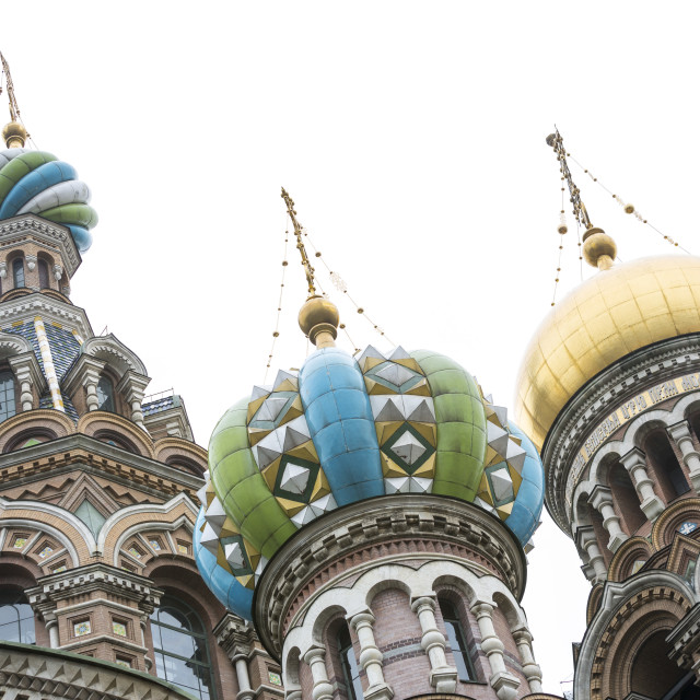 """Church of Savior on the Spilled Blood"" stock image"