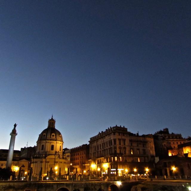 """""""Rome Dusk"""" stock image"""