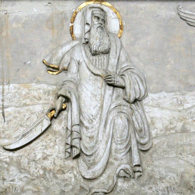 """Abraham Sacrificing Isaac"" stock image"