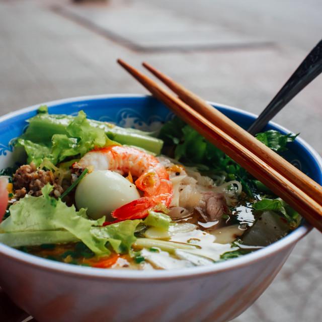"""Vietnam's streetfood"" stock image"