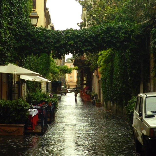 """Rainy Rome"" stock image"