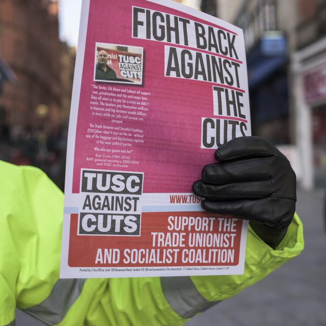 """Trade Union Newspaper"" stock image"