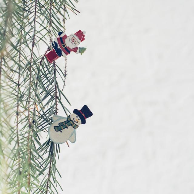 """""""Hello Christmas!"""" stock image"""