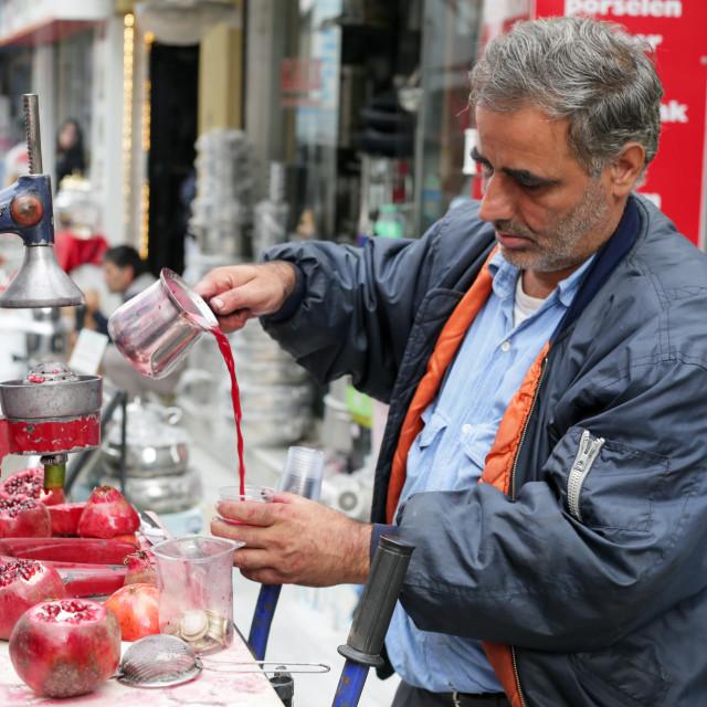 """Pomegranate Juice"" stock image"