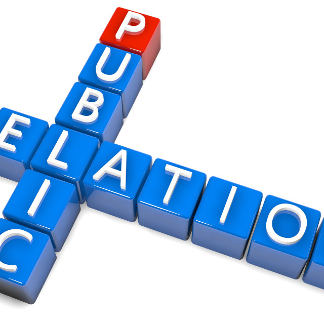 """Crossword Public Relation"" stock image"