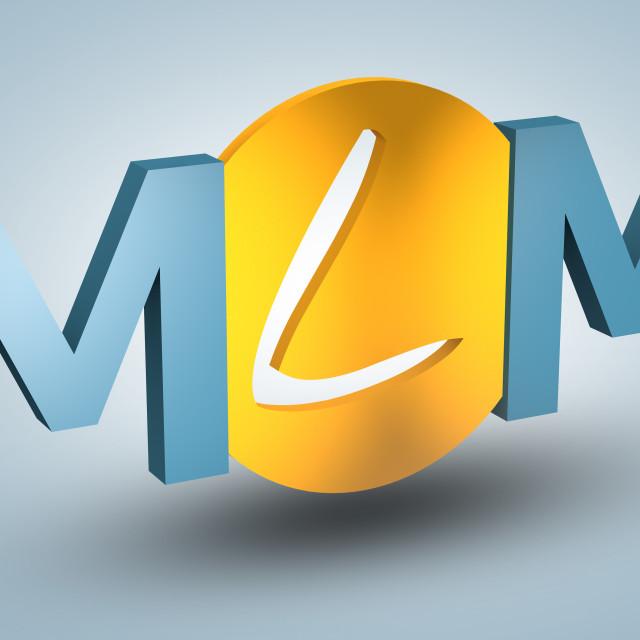 """""""Multi Level Marketing"""" stock image"""
