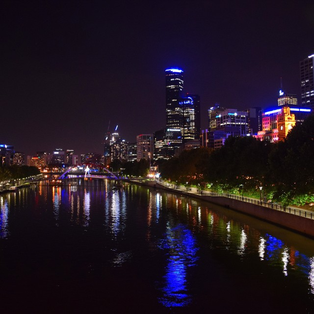 """Melbourne"" stock image"