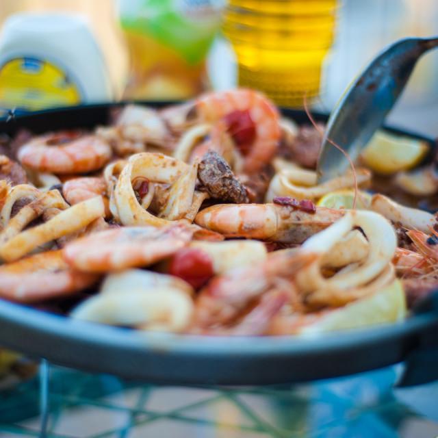 """the Taste of Spain"" stock image"