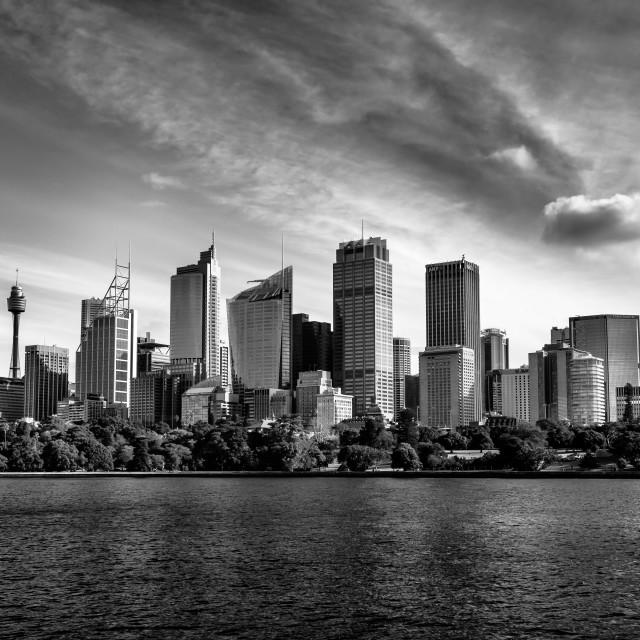 """Sydney Australia Skyline"" stock image"