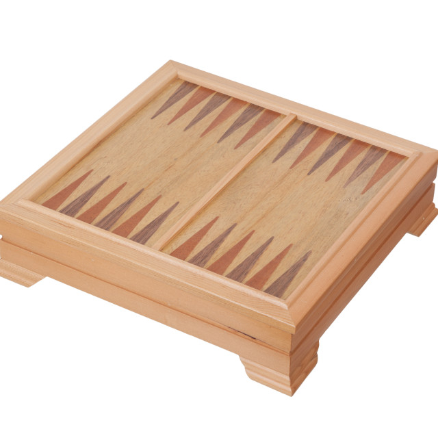 """""""Board for a game of backgammon"""" stock image"""