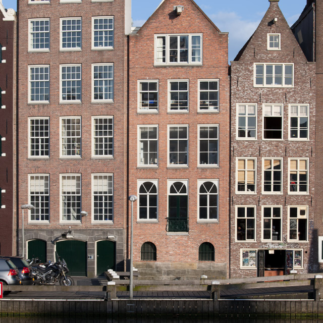 """Houses in Amsterdam"" stock image"