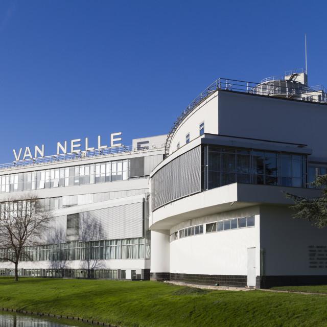 """Van Nelle Factory"" stock image"