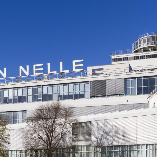 """Old Van Nelle"" stock image"