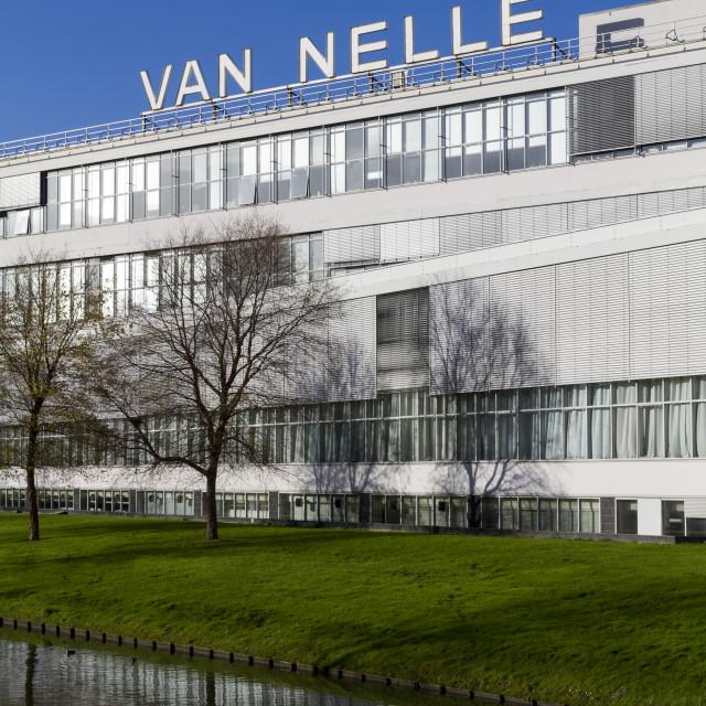 """Van Nelle"" stock image"