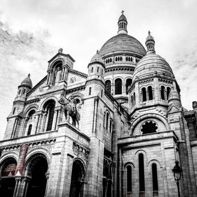 """""""Sacré-Coeur, Paris"""" stock image"""