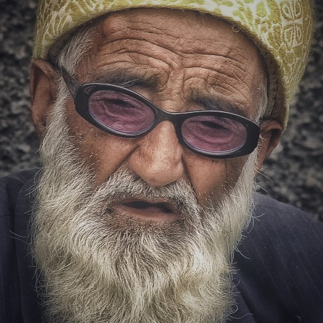 """Old man"" stock image"