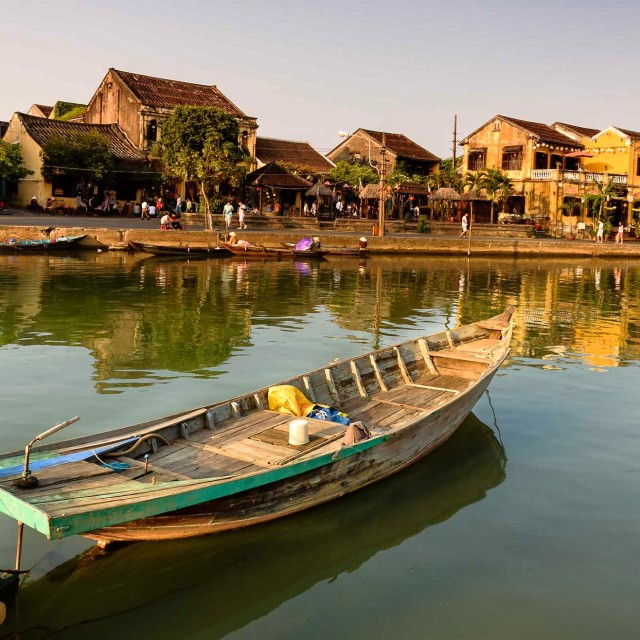 """Hoi An at evening"" stock image"
