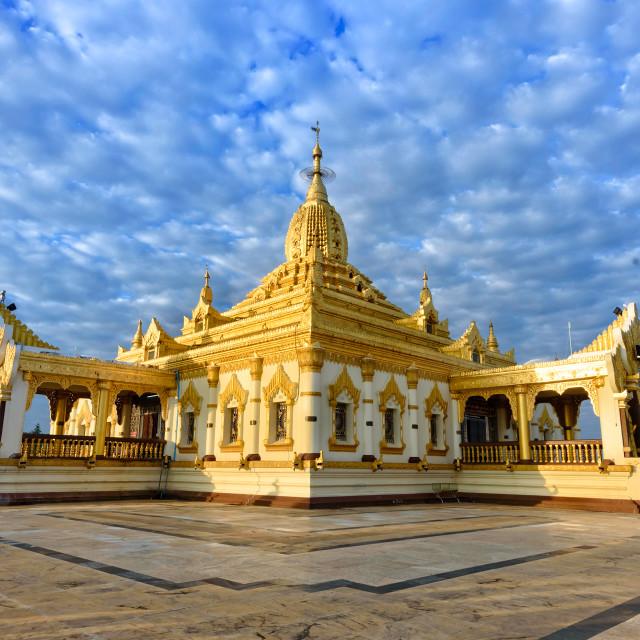 """""""Maha Ant Htoo Kan Thar Pagoda"""" stock image"""