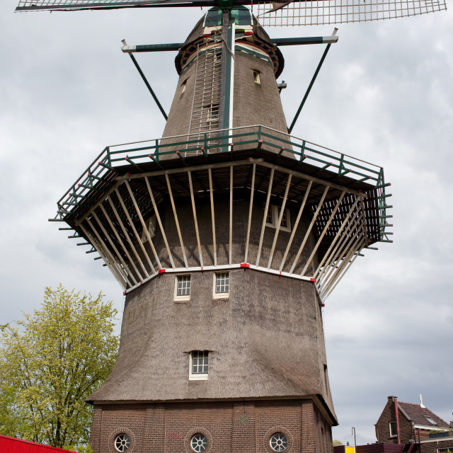 """De Gooyer Windmill in Amsterdam"" stock image"