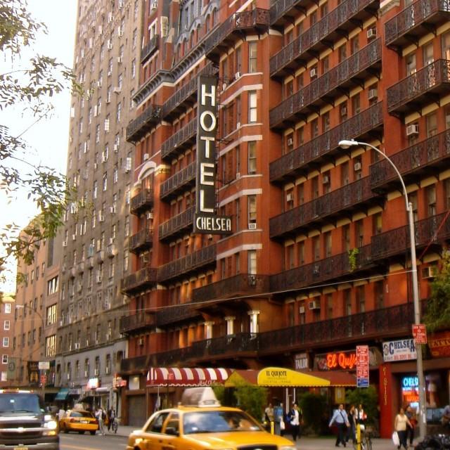 """Chelsea Hotel"" stock image"