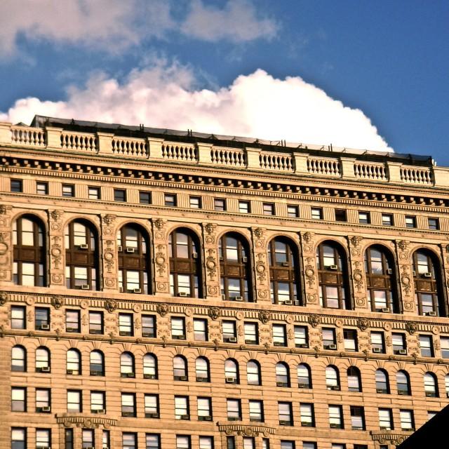 """Flatiron Building"" stock image"