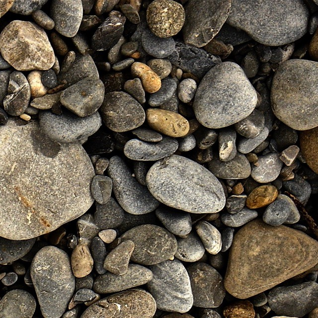 """Beach Stones"" stock image"