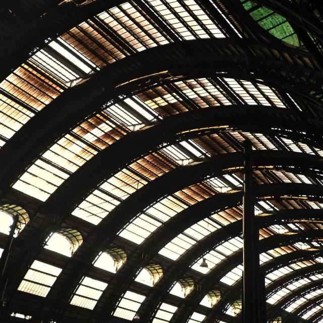 """Milano Centrale"" stock image"