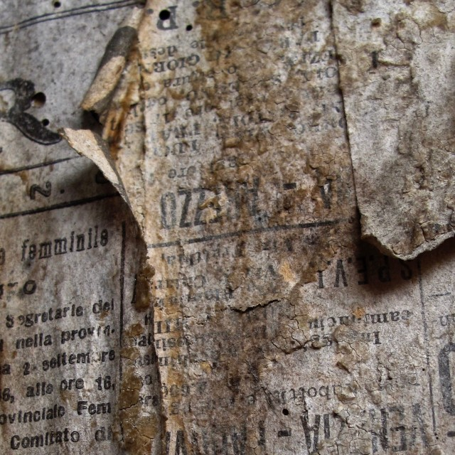 """Old Newspaper"" stock image"
