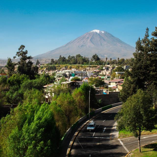 """""""Arequipa"""" stock image"""