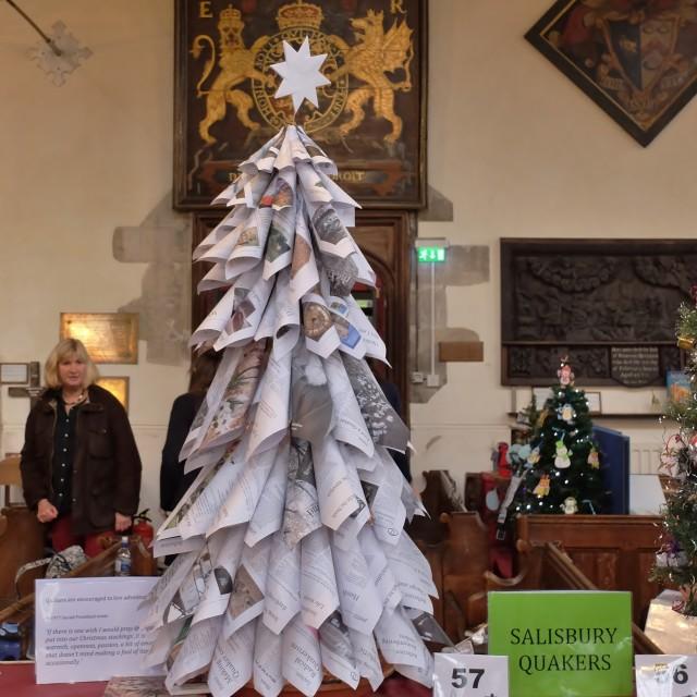 """Festival of Christmas Trees."" stock image"
