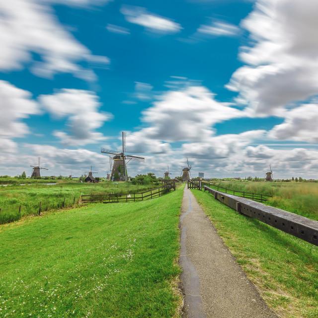 """A Windmill Story"" stock image"