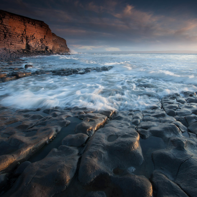 """""""Nash Point South Wales"""" stock image"""