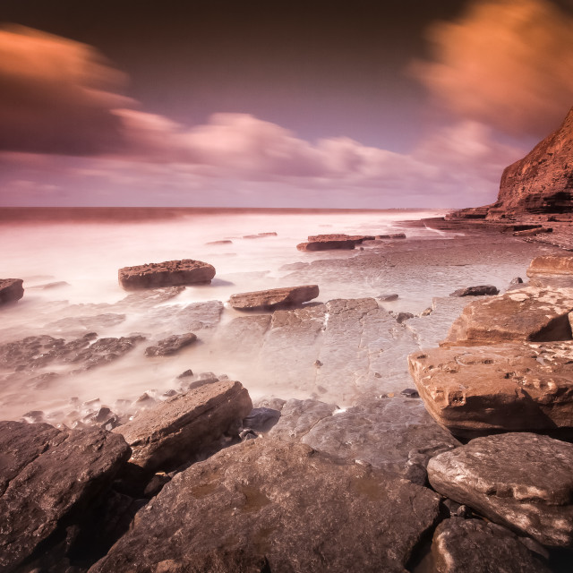 """Southerndown, Welsh Heritage Coast"" stock image"