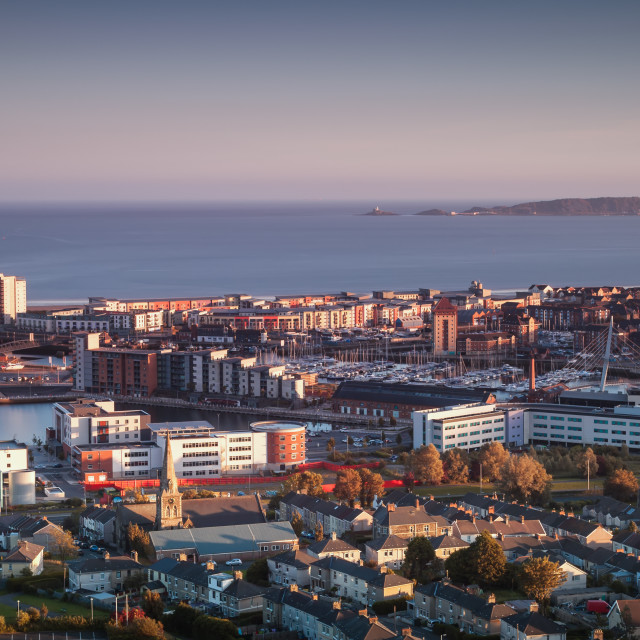 """""""Swansea city South Wales"""" stock image"""