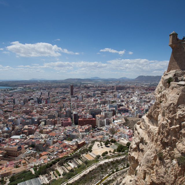 """Alicante Costa Blanca"" stock image"