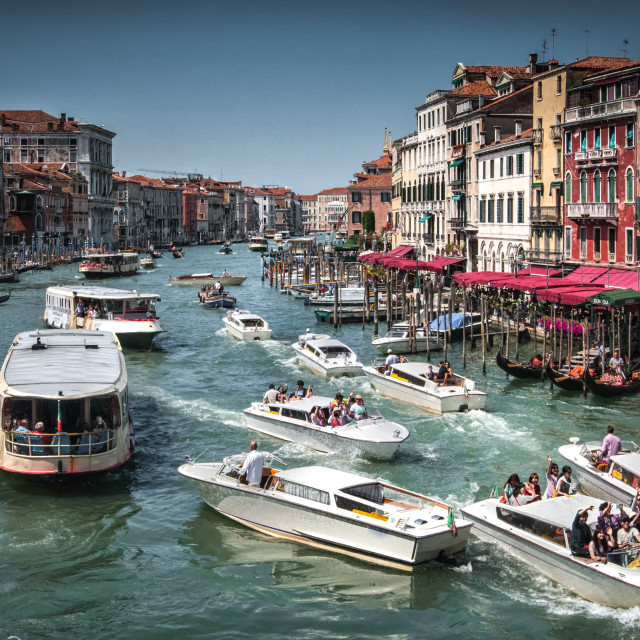"""""""Grand canal Venice Italy"""" stock image"""