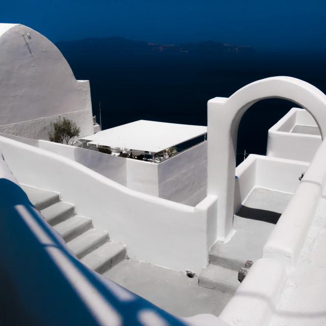 """Santorini Greece"" stock image"